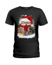 Cats Friendship  Ladies T-Shirt thumbnail