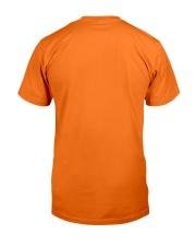Black Cat In Pumpkin Classic T-Shirt back