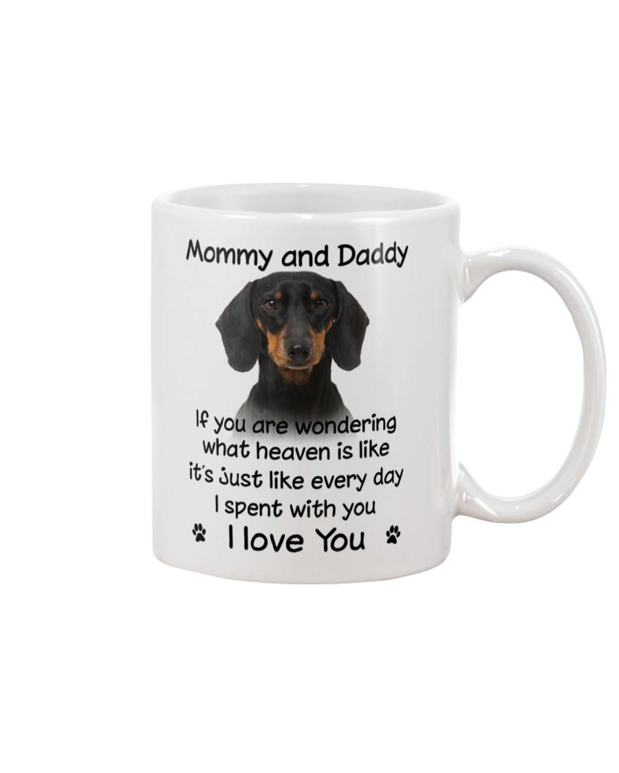 Dachshund Mommy And Daddy Mug