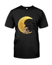 Golden Retriever I Love You Classic T-Shirt thumbnail