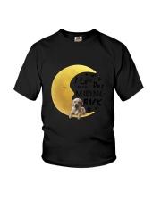 Golden Retriever I Love You Youth T-Shirt thumbnail