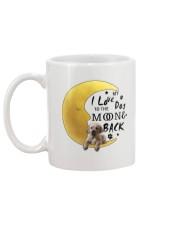 Golden Retriever I Love You Mug back