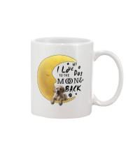 Golden Retriever I Love You Mug front