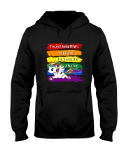 PHOEBE - Unicorn Im beautiful - 0712 - D22 Hooded Sweatshirt front