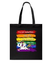 PHOEBE - Unicorn Im beautiful - 0712 - D22 Tote Bag thumbnail