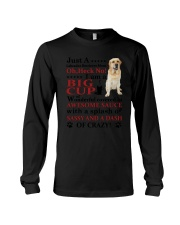 Labrador Retriever Crazy Funny Long Sleeve Tee thumbnail