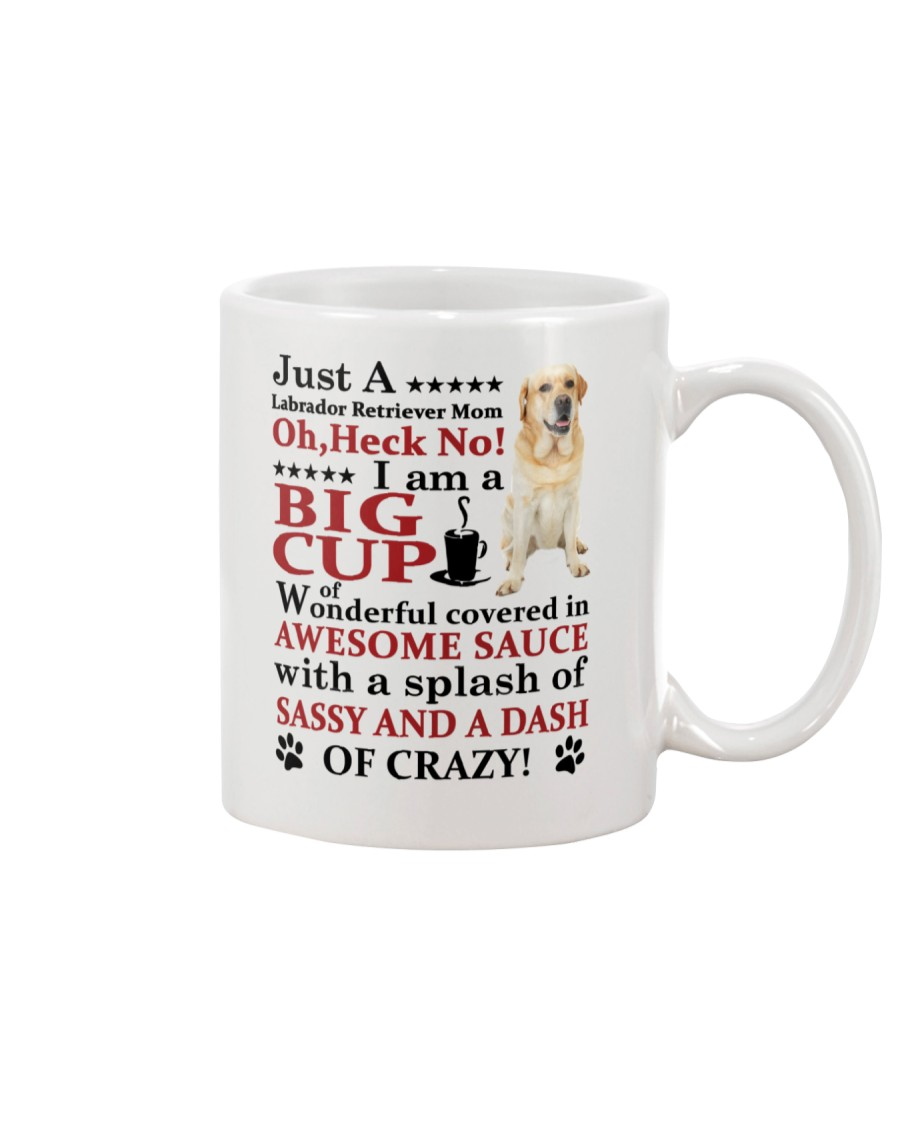 Labrador Retriever Crazy Funny Mug