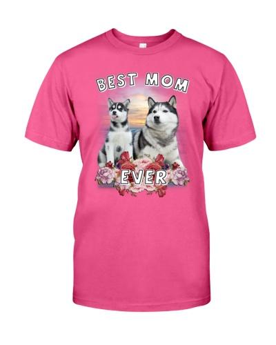 Siberian Husky Best Mom