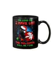 Holiday Black Cat Mug thumbnail
