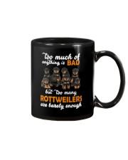 Rottweiler Barely Enough Mug thumbnail