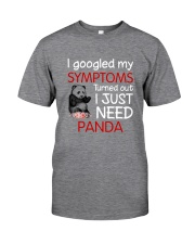 Panda Symptoms Classic T-Shirt tile