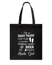 Sassy Beer Tote Bag thumbnail