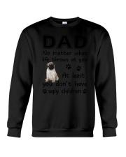Dad Pug Crewneck Sweatshirt thumbnail