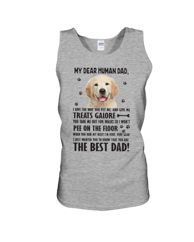 Human Dad Labrador Retriever