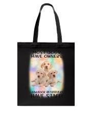 Staff Labrador Retriever Tote Bag thumbnail
