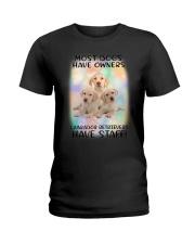 Staff Labrador Retriever Ladies T-Shirt thumbnail
