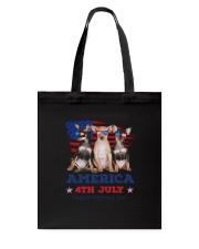 4th July Chihuahua Tote Bag thumbnail