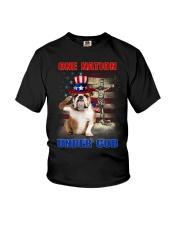 Bulldog One Nation  Youth T-Shirt thumbnail