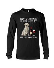 Good Mood Wine Golden Retriever Long Sleeve Tee thumbnail