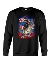 Dinosaur Rottweiler Crewneck Sweatshirt thumbnail