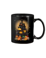 Black Cat Tree Halloween Mug thumbnail