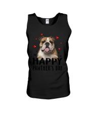 Bulldog Happy Pawther Day Unisex Tank thumbnail