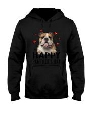 Bulldog Happy Pawther Day Hooded Sweatshirt thumbnail