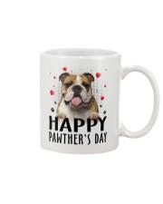 Bulldog Happy Pawther Day Mug front