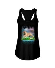 Daddy I Love You More French Bulldog Ladies Flowy Tank thumbnail