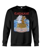 PHOEBE - Cat Titanic  mug - 1711 - A11 Crewneck Sweatshirt thumbnail
