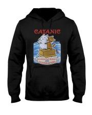 PHOEBE - Cat Titanic  mug - 1711 - A11 Hooded Sweatshirt thumbnail