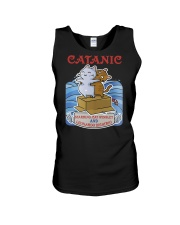 PHOEBE - Cat Titanic  mug - 1711 - A11 Unisex Tank thumbnail