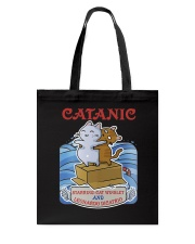 PHOEBE - Cat Titanic  mug - 1711 - A11 Tote Bag thumbnail