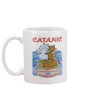 PHOEBE - Cat Titanic  mug - 1711 - A11 Mug back