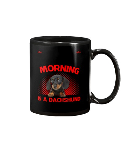 Dachshund Morning