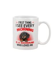 Dachshund Morning Mug front