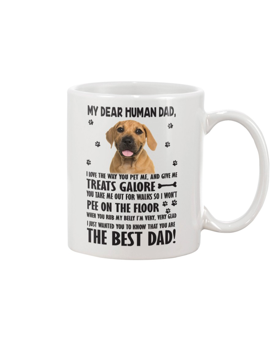 Human Dad Boerboel Mug