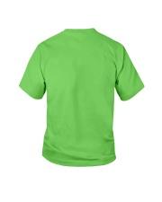 4th July German Shepherd Youth T-Shirt back