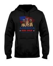 4th July German Shepherd Hooded Sweatshirt thumbnail