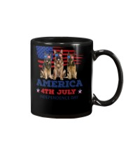 4th July German Shepherd Mug thumbnail