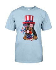 Independence Day Rottweiler Classic T-Shirt front