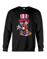 Independence Day Rottweiler Crewneck Sweatshirt tile