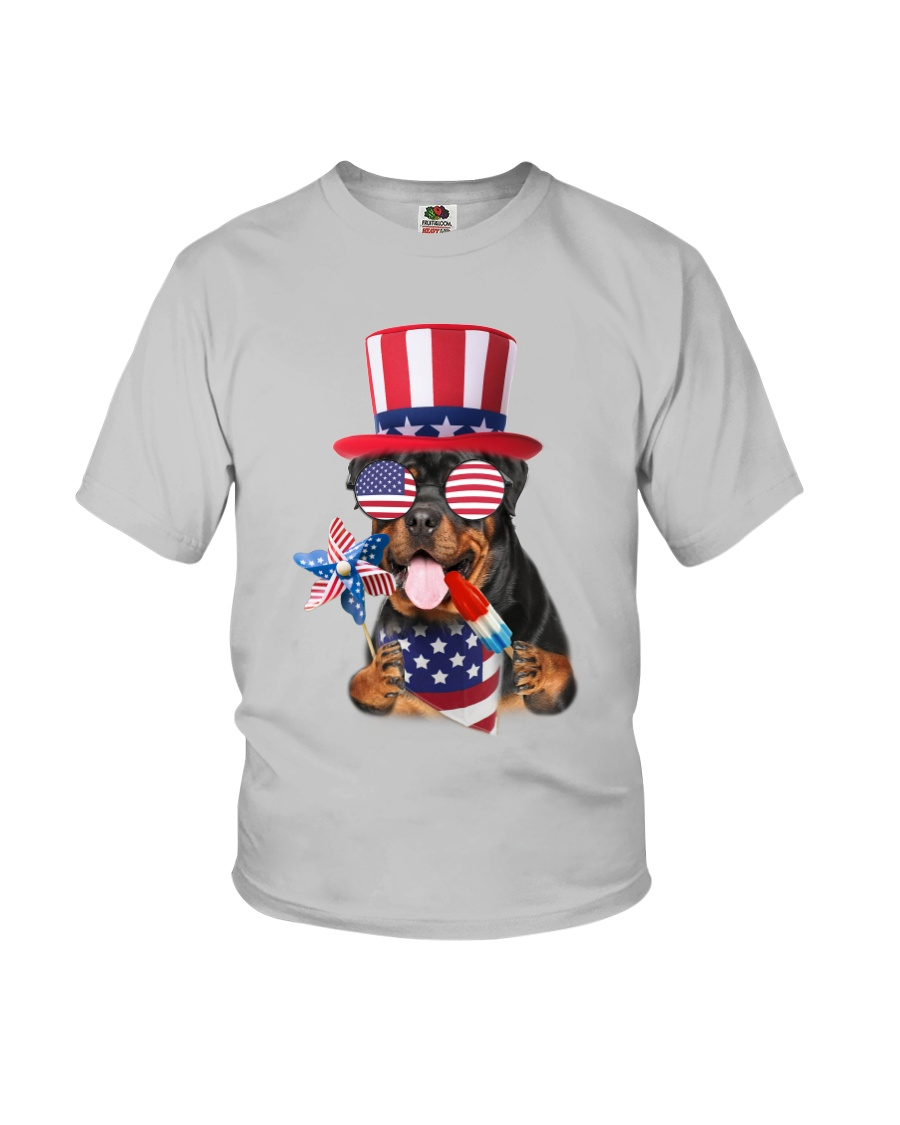 Independence Day Rottweiler Youth T-Shirt