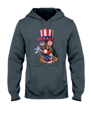Independence Day Rottweiler Hooded Sweatshirt front