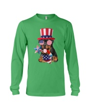 Independence Day Rottweiler Long Sleeve Tee front