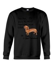 Pawsome Mom Dachshund Crewneck Sweatshirt thumbnail