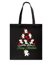 Unicorn Merry Christmas Tote Bag thumbnail