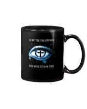 Keep Your Eyes On Jesus Mug thumbnail