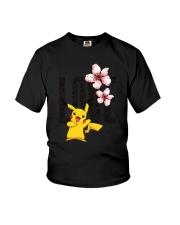 Love Flower Cute Youth T-Shirt thumbnail