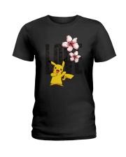 Love Flower Cute Ladies T-Shirt thumbnail